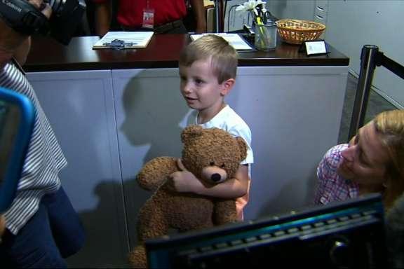 4 year old boy reunited with his teddy.jpg