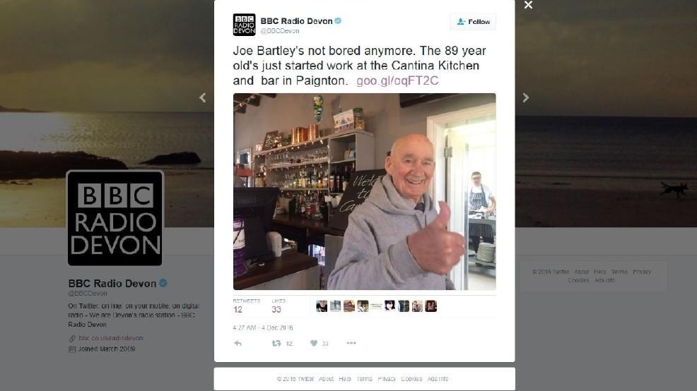 89 years old veteran begins new job.jpg