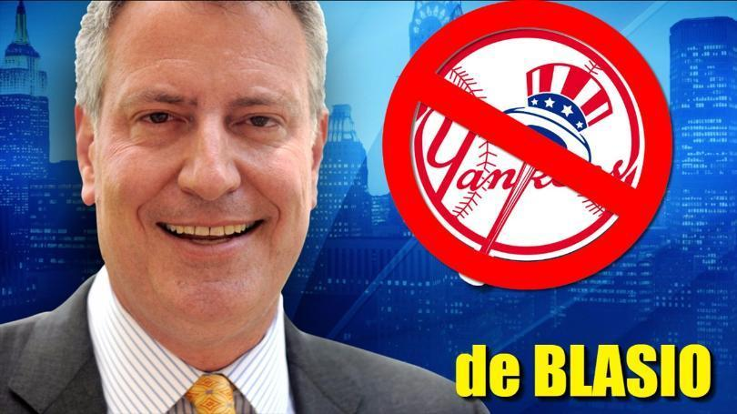 de Blasio won't go to the Yankee studium.jpg